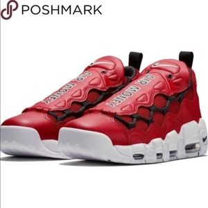 Nike Air More Money $ - Gym Red size-9